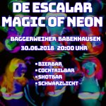 De Escalar Magic Of Neon